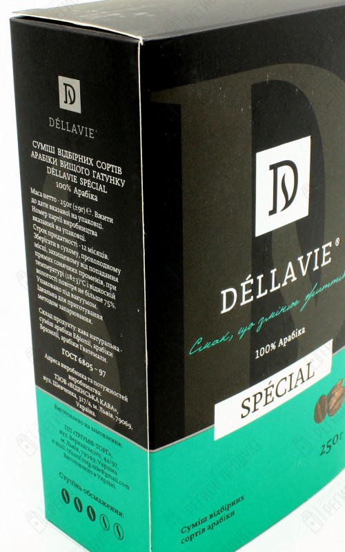 Dellavie Decafeine 250г/12шт