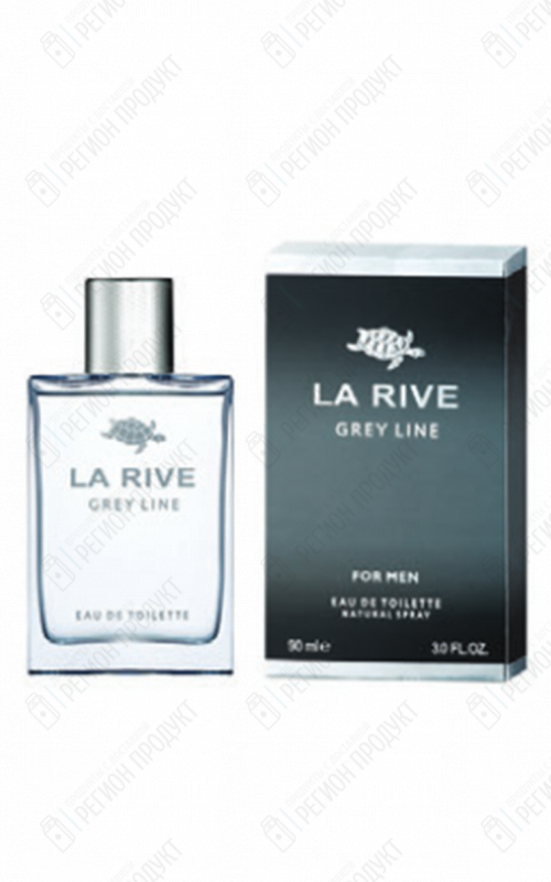 La Rive Муж. т/вода 90 мл.GREY LINE FOR MAN